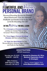 Hosted By - Shaniece M. Wise - Business Expansion Coach & Strategist