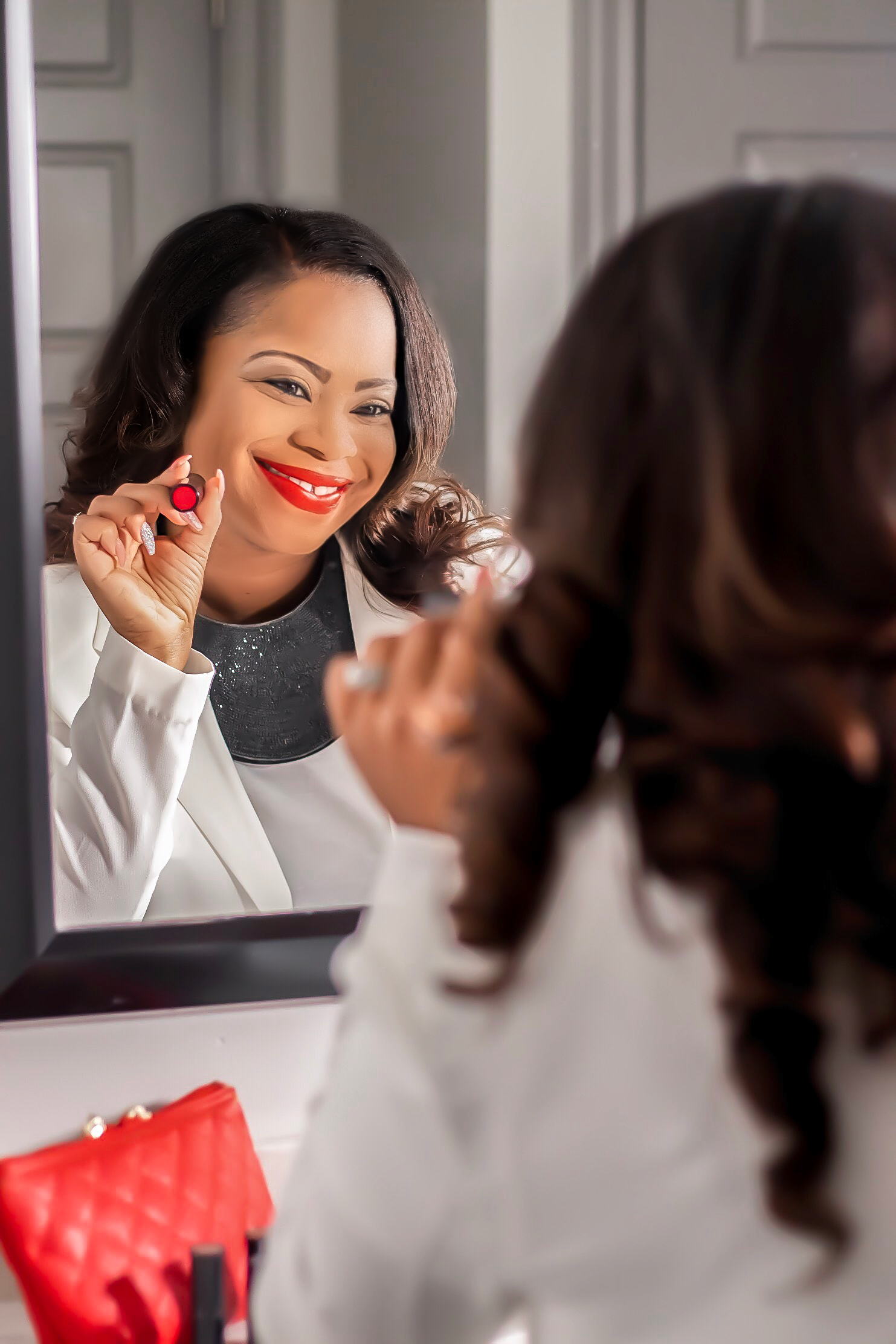Shaniece M. Wise in the Mirror